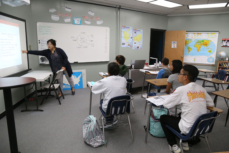 High School beginner class