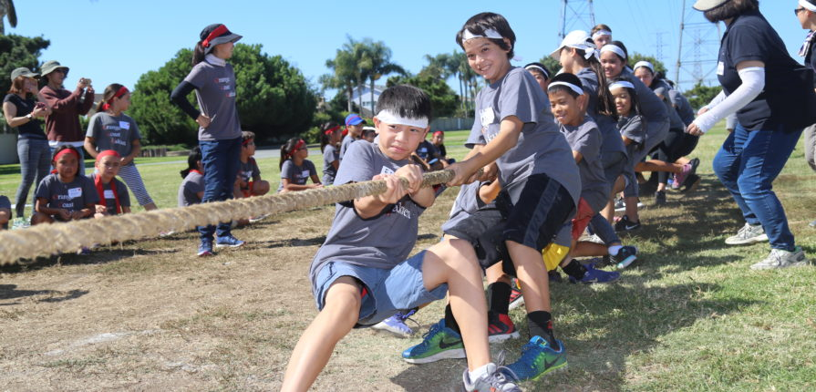 Field day tug of war