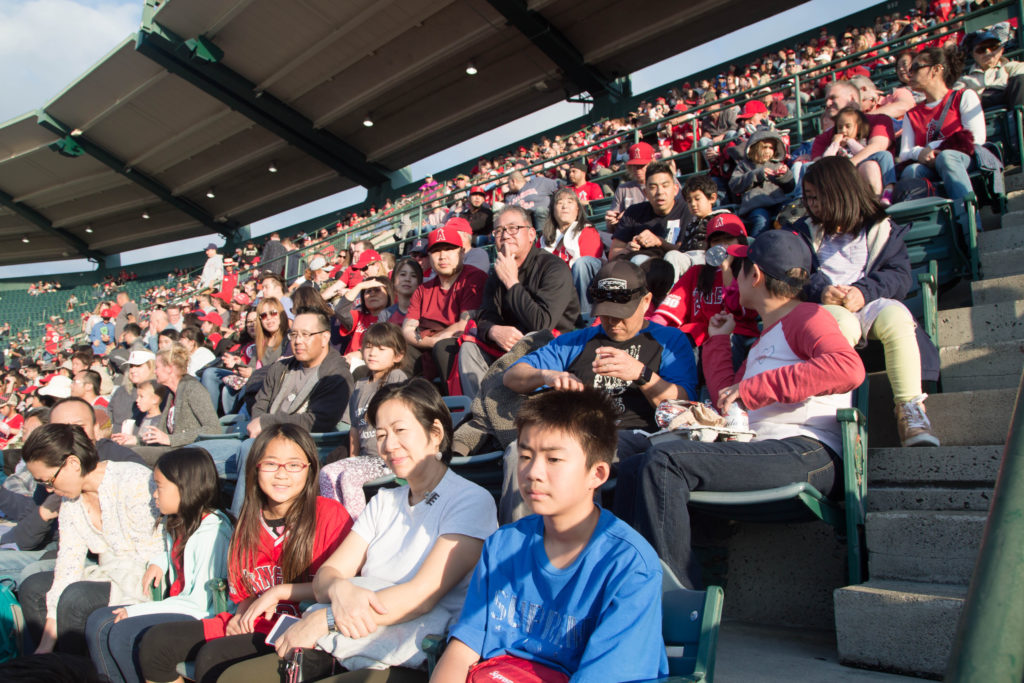 OCG community at the Angels Game
